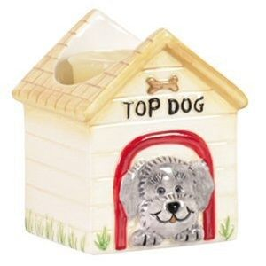 Top Dog Ceramic Votive Candle Holder #13256 (NWT)